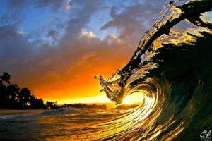 マウイの波
