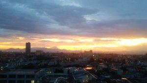夕日のあと2