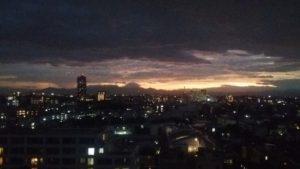 夕日のあと3