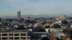 2017年11月の富士山